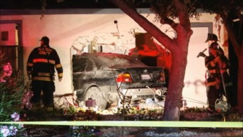 Car Plows Into Union City Duplex, 'Narrowly' Misses Family
