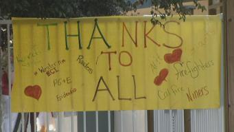 First Day at School For Students Affected by Clayton Fire