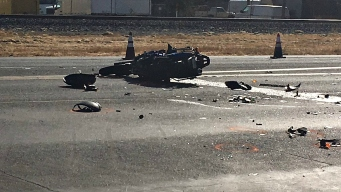 Law Enforcement Officer Killed in San Martin Crash: Cal Fire