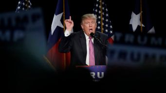 Trump Vows to 'Save' Gun Rights at Texas Rally