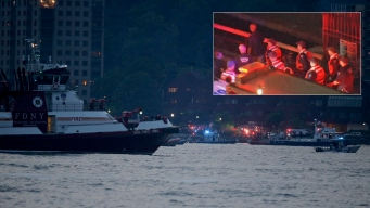 Small WWII Plane Crashes into Hudson, Body Found: NYPD