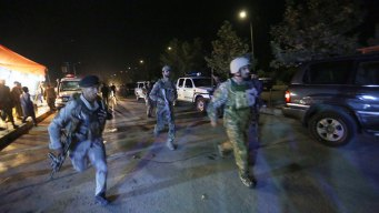 Police Respond to Attack at American University in Kabul