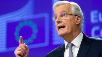EU Brexit Negotiator Puts Time Pressure on Britain