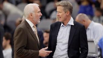 Warriors, Spurs Will Push Forward Amid Sorrow