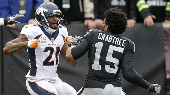 Crabtree, Talib Ejected for Fighting During Game