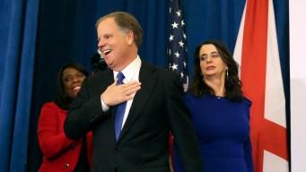 Democrat Jones Projected Winner in Alabama Senate Upset