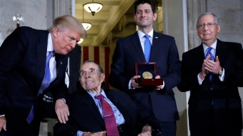 Bob Dole Receives Congressional Gold Medal