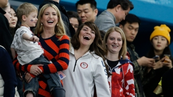 Ivanka Trump Cheers on Team USA at Olympics