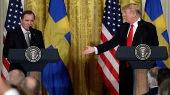 Trump Says He'll Push Tariffs Despite Pressure From GOP