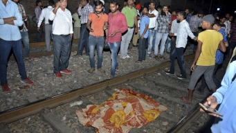 Train Mows Down Festival Crowd in India; Dozens Dead