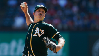 Mengden Mows Down Rangers, A's End 2017 on High Note
