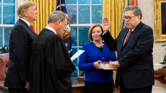 William Barr Sworn in For 2nd Stint as Attorney General