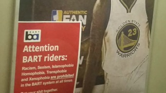 Rogue 'Get Your S--- Together' Anti-Hate BART Campaign