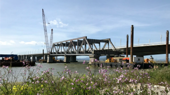 Final Goodbye: Last Section of Old Bay Bridge to be Hauled Away