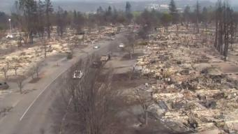 Bell-Ringing Ceremony Marks 1-Year Since North Bay Fires