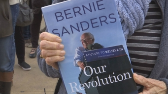Bernie Sanders Supporters Flock to Cal Campus for Speech