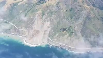 Massive Landslide Buries Stretch of Highway 1