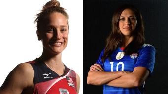 2 Carli Lloyds Compete in 2016 Rio Games