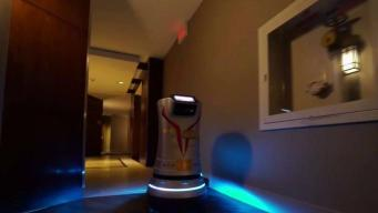 CES 2018: Robots Making Deliveries to Hotel Guests