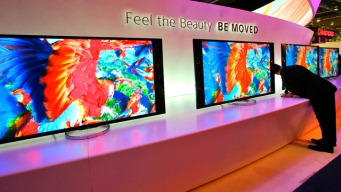 Televisions of the Future at CES