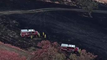 Cal Fire Crews Douse Fire in San Jose