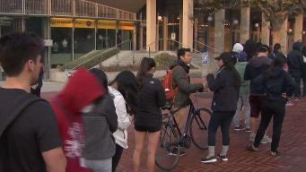 Cal Student Gives Away Free Masks to Students
