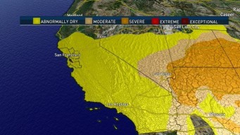 Much of California Listed as 'Abnormally Dry': Drought Monitor