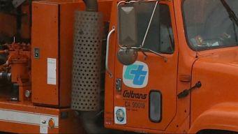 Caltrans Employee Falls From Highway Overpass