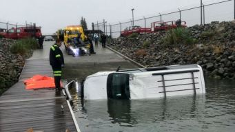 Investigation Ongoing After Vehicle Plunges Into Estuary
