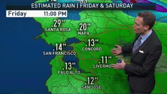 Jeff's Forecast: Rain Chance