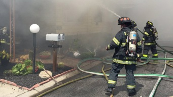 Firefighters Knock Down Mobile Home Park Blaze in San Jose