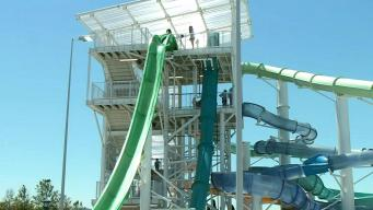 Child Suffers Scrapes After Falling Out of Water Slide