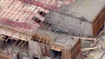 Collapsed Concrete Injures Workers in Oakland