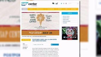 Hall and Oates, Tears For Fears Concert in San Jose Postponed for Family Emergency