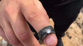 Couple's Engagement Rings Survive Tubbs Fire