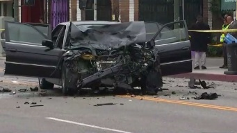 Pursued Car Hits Uncle of Sisters Killed in Crosswalk