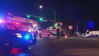 5 Hospitalized With Minor Injuries After Accident in Front of Facebook HQ in Menlo Park
