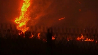 Creek Fire Chars More Than 12,600 Acres in Sylmar