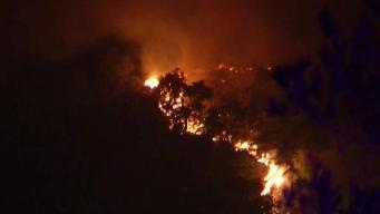 Crews Reach 10 Percent Containment in Fight Against Santa Cruz Mountains Fire