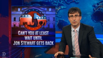 """""""The Daily Show"""" Says No to 2016 Presidential Buzz"""