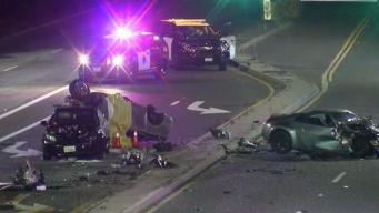Man Killed, Another Injured in Two-Car Crash in San Jose