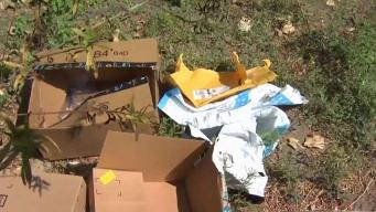 Dozens of Emptied Amazon Packages Found Near San Jose River