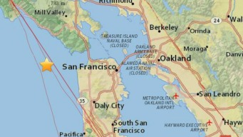 3.2-Magnitude Quakes Strikes Off San Francisco Coast: USGS