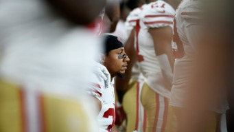 49ers' Reid Goes Into Detail on Kneeling During Anthem
