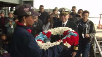 Fallen Heroes Honored on USS Hornet in Alameda
