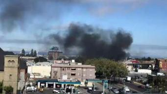 Fire Breaks Out at Homeless Encampment in Oakland