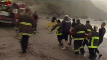 Fire Crews Respond to Teenage Girl Over Cliff in SF