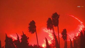 Fire Forces Thousands to Evacuate in Southern California