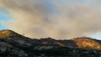 Fire Prompts Mandatory Evacuations in Clearlake Oaks