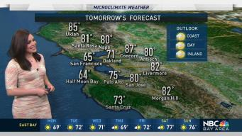 Forecast: Cool in AM, Then Clearing and Mild
